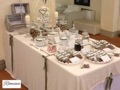 sweet table confettata chic