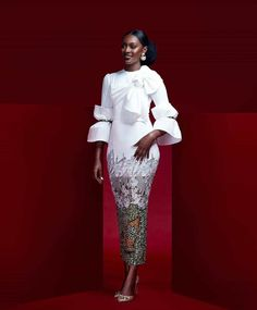 13 PICTURES: Ravishing African Dresses For Impressive Ladies This Ankara styles/African dresses collection is the best of the day. Best African Dresses, African Fashion Ankara, Latest African Fashion Dresses, African Print Dresses, African Print Fashion, African Attire, African Prints, Classy Dress, Classy Casual