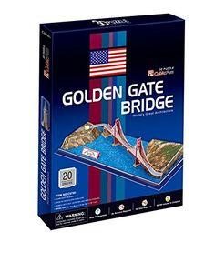 Puzzle 20 pièces - Puzzle 3D - Etats-Unis, San Francisco