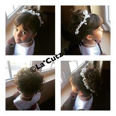 Little Girl Up Do