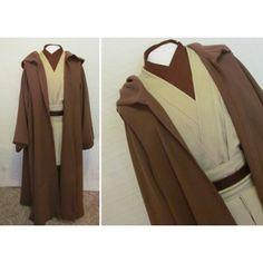 Star Wars Cosplay Kenobi Jedi Deluxe Version Costumes