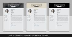 Easy to edit and customise, with a single page resume design, cover letter templates. Business cards are also included to complete the look. All elements can be customised to perfectly fit your needs. This is the fast and flexible solution for anyone looking for a professional looking resume.