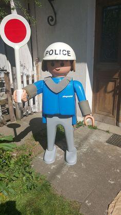 Playmobil géant - Homme police - - Boîte