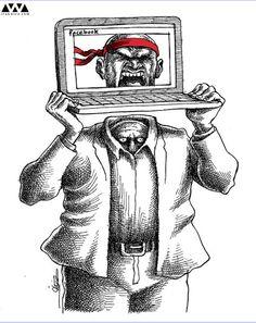 Valientes en la red, cobardes en la vida real - Mana Neyestani of IRAN