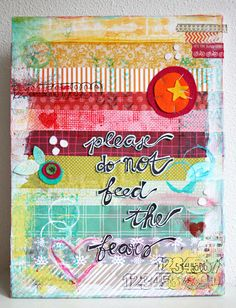 By Revlie Schuit *** thanks for pinning me <3 *** Chris Graham via Patricia Leng Repinned 5 days ago from Art Journaling