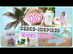 Diy beachnautical themed room decor erinrachel ideas diy beach inspired room decor youtube solutioingenieria Gallery