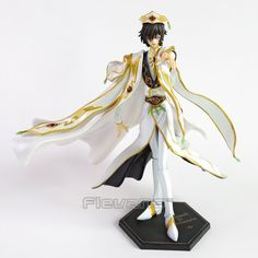 (46.87$)  Watch here  - Anime Code Geass R2 Lelouch Lamperouge Britannia Knight of Zero Emperor Ver. PVC Figure Collectible Model Toy 27cm