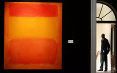 How to Paint a Rothko-Esque Color-Field Painting Mark Rothko Paintings, Oil Paintings, Rothko Art, Abstract Expressionism, Abstract Art, Primary School Art, Field Paint, Orange Painting, Oil Painting For Sale