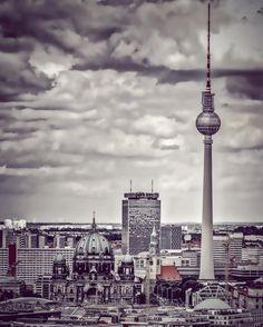 Dom und Fernsehturm,Berlin(D)-Germany
