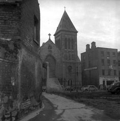 Peter's Church of Ireland, Aungier Street, Dublin Dublin Street, Dublin City, Church Of Ireland, Dublin Ireland, Old Pictures, Old Photos, St Peter's Church, Irish Culture, Photo Engraving
