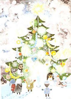 moominvalleytales:  皆さん、メリークリスマス!良い一日と楽しい休みを! Merry Christmas, everyone!