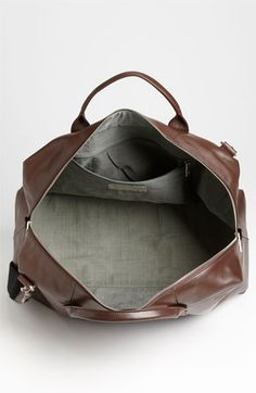 Jack Spade 'Wayne' Leather Duffel Bag | Nordstrom Smooth Leather, Leather Men, Leather Bags, Jack Spade, Laptop Tote, Work Tote, Fashion Bags, Men's Fashion, Duffel Bags