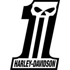 Harley-Davidson Skull Logo | Harley davidson skull