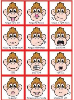 Product samples for MagneTalk Oral-Motor Exercises Looks like good exercises to practice before speech therapy. Articulation Therapy, Articulation Activities, Speech Therapy Activities, Speech Language Pathology, Language Activities, Speech And Language, Toddler Speech Activities, Speech Therapy Posters, Play Therapy
