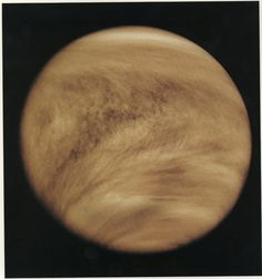 Cloudy Venus Credit: NASA A thick blanket of clouds obscures Venus' surface. The Pioneer Venus orbiter snapped this image in 1979.