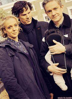 Sherlock and Watson family