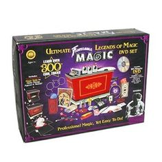 Great magic kit for an 8 year old boy