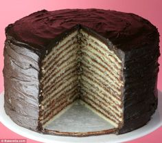 The Smith Family's 12 Layer Cake by Art Smith