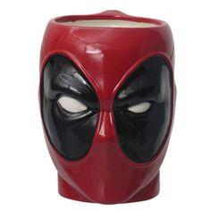 Deadpool Head Molded Mug - Monogram - Deadpool - Mugs at Entertainment Earth
