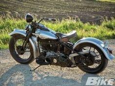 1946 Harley Davidson EL Knucklehead Star Hubs