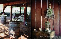 Wine Barn Wedding Barn Decor