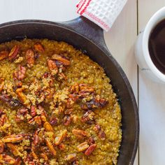 Baked Quinoa and Oatmeal with Candied Pecans | Food & Wine