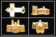 Maqueta de la catedral de Santiago de Compostela