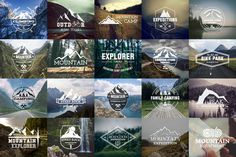 20 Adventure Badges & Logos by Jekson Graphics on Creative Market