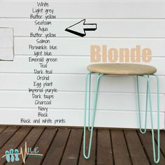 Blonde goes with...