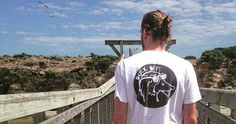 @fraser_mclaren wearing the duck off tee  . . #looseendthreads #mensfashion #surfwear #streetwear #design #graphicdesign #travel #adventure #clothing #warrnambool #photography #landscape #panorama by looseendthreads