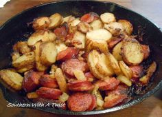 http://lynn-southernwithatwist.blogspot.com/2014/01/sausage-onion-and-greek-potatoes.html