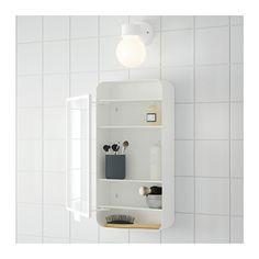 GUNNERN Mirror cabinet with 1 door - white - IKEA