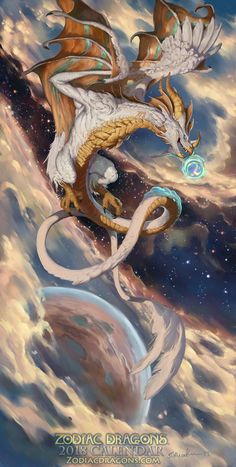 2018 The Balanced Air Zodiac Dragon Libra! The 2018 Celestial Edition of the Zodiac Dragons® Calendar! 2018 The Balanced Air Zodiac Dragon Libra Dark Fantasy Art, Fantasy Artwork, Fantasy Kunst, Mythical Creatures Art, Mythological Creatures, Magical Creatures, Fantasy Creatures, Dragon Zodiac, Mythical Dragons