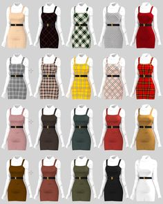 sims 4 cc // custom content clothing // // b. - sims 4 cc // custom content clothing // // belt buckle is in th - Sims 4 Mods Clothes, Sims 4 Clothing, Teen Fashion Outfits, Mode Outfits, Sims 4 Outfits, Red Skirt Outfits, Clueless Outfits, Clueless Fashion, Toddler Outfits