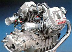 Moto Guzzi 8V OHC Engine