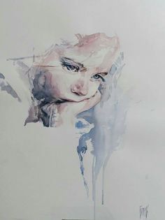 Would love to paint my gorgeous daughter like this!
