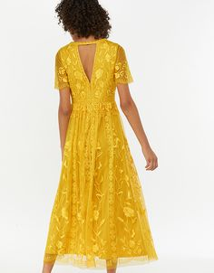 1bcc58d9fb3ed Monsoon | Women & children's clothing. Unusual DressesYellow Midi  DressMonsoonMother Of ...
