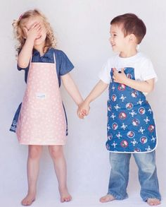 Max and Ella – boutique aprons for kids in the kitchen