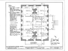 Prestwould Plantation, Virginia::Colonial Williamsburg Houses:: Colonial Williamsburg Home Plans::Colonial House Plans::Federal Homes::Early American Homes Colonial House Plans, Colonial Style Homes, Bungalow House Plans, Early American Homes, Creole Cottage, Colonial Williamsburg, Mid-century Modern, Floor Plans, How To Plan