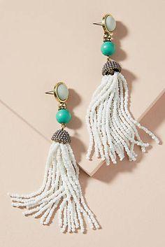Artemis Tassel Drop Earrings