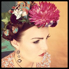 Frida Kahlo inspired shoot.  Makeup by The Beauty Spot Waiheke. www.beautyspotwaiheke.co.nz Hair by Hair on Waiheke. Clothing by Aubertin. Photography by Sonja Read