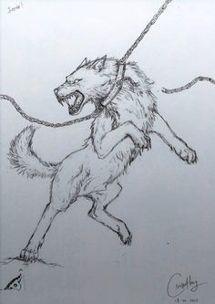 Fenrir Wolf | The King of Wolves - FENRIR!!!!! by dino-wolf
