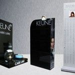 Acrylic stands for KEUNE. http://www.colormath.com.pk/stands_kiosks_and_cutouts/