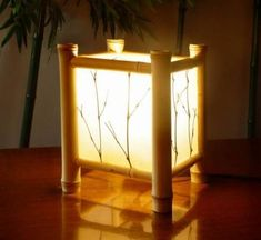 Stunning Bamboo Lantern Design Ideas You Will Amazed - Table Lamp Wood, Wooden Lamp, Bamboo Light, Bamboo Lamps, Bamboo Structure, Driftwood Lamp, Bamboo Architecture, Bamboo Furniture, Cheap Furniture