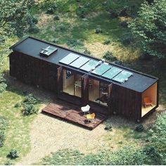 View our range of residential shipping container and modular homes, as well as custom large living space conversions. Utilizing modular building techniques to create amazing family homes for you! Shipping Container Home Designs, Container House Design, Container Homes, Container Cabin, Cargo Container, Shipping Containers, Portland, Tiny Houses For Rent, Diy Cabin