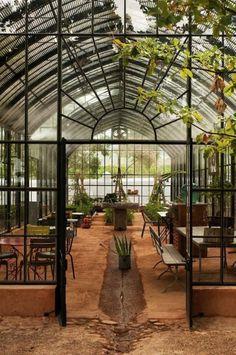 Babylonn Greenhouse Cafe Restaurant Plans Entrance Organic
