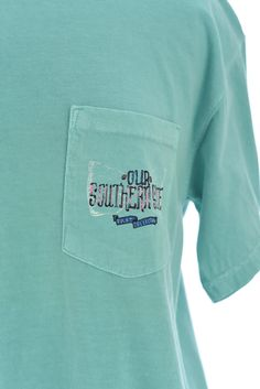 The This Land Tee in Mint