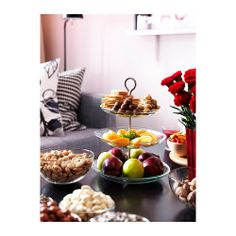 IKEA 365+ Serving platter, 3 tiers IKEA The plates are detachable which means you can combine and vary the height as you like.