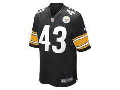 4af6c8479 NFL Pittsburgh Steelers (Troy Polamalu) Men s Football Home Game Jersey  Antonio Brown Kids