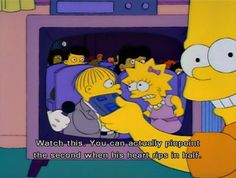 I love Lisa Simpson, and when I grow up I'm going to marry her!